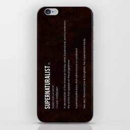 Supernaturalist iPhone Skin