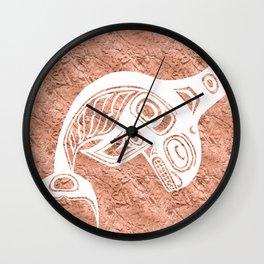 Spirit Keét Copper Wall Clock