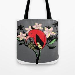 Hawaiian I'iwi Tote Bag