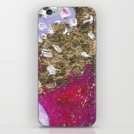 Abstraction World #1. Round version 4 iPhone Skin