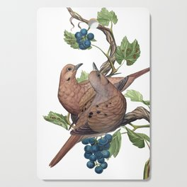 Mourning Doves Cutting Board