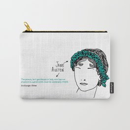History's Women: Jane Austen Carry-All Pouch