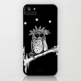 Metal Owl iPhone Case