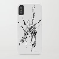 hydra iPhone & iPod Cases featuring Hydra (detail) by Cloudery