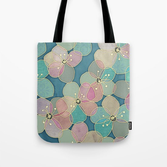 It's Always Summer Somewhere 2 - translucent poppy doodle Tote Bag