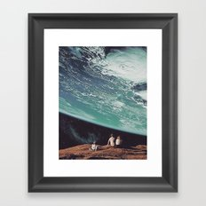 Astronomical Limits Collaboration with Thom Easton Framed Art Print