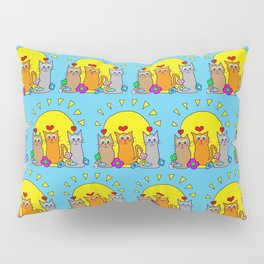 Sunshine Cats Pillow Sham