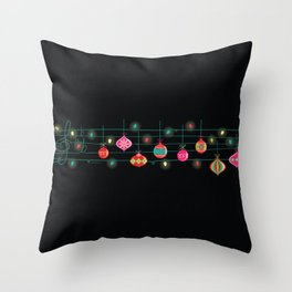 Santa claus is coming to town~~ Throw Pillow
