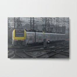 Brussels departure Metal Print