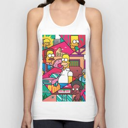 The Simpson Unisex Tank Top