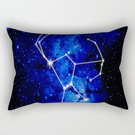 Orion Constellation Star Map Rectangular Pillow