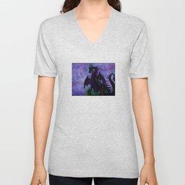 Dragon Maleficent Unisex V-Neck