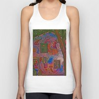colombia Tank Tops featuring MAGIC HOUSE BOGOTA COLOMBIA by Alejandra Triana Muñoz (Alejandra Sweet
