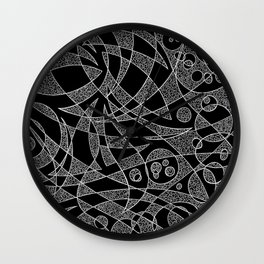 Scattered 2 (Inverted) Wall Clock