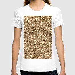Sparkling Glitter Print H T-shirt