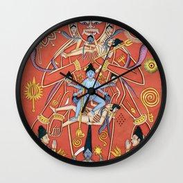 Hindu - Kali 7 Wall Clock