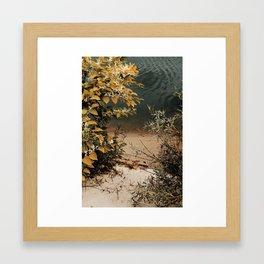 inner journey out Framed Art Print