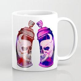 Dueling Skull Spraypaint Cans - 773 Coffee Mug
