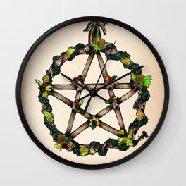 PENTAGRAM GARLAND Wall Clock