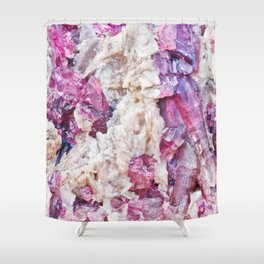 Magical pink crystal - gemstones, photography #Society6 Shower Curtain