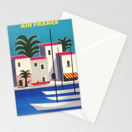 Vintage poster - French Riviera Stationery Cards