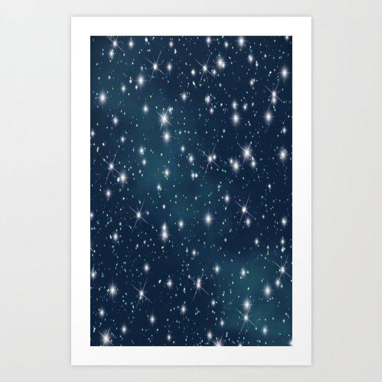 sky-183 Art Print