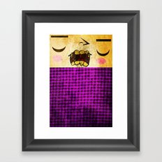 Crunch Framed Art Print
