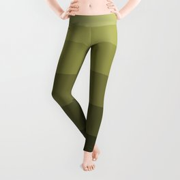 Jade Olive Green - Color Therapy Leggings