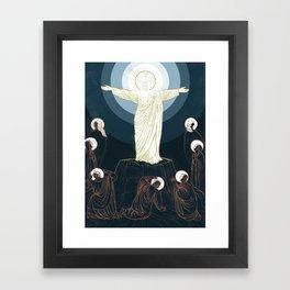 The Word Made Flesh Framed Art Print