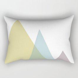 three mountains Rectangular Pillow