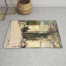 Washington Arch, Spring - Digital Remastered Edition Rug