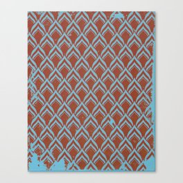 leafpttrn Canvas Print