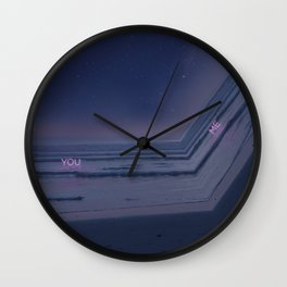 Drifting in and out. Wall Clock