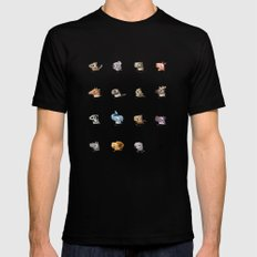 Marathon Animals MEDIUM Mens Fitted Tee Black