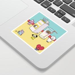 Milk Party Sticker