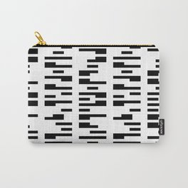 DIGITAL DNA. BLACK AND WHITE BLOCKS Carry-All Pouch