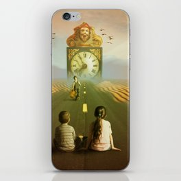 Time to grow up iPhone Skin
