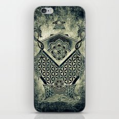 Sacred Geometry for your daily life - ESOTERIC ALEPH KYBALION EYE iPhone & iPod Skin