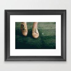 thrifting magic Framed Art Print