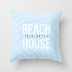 Teen Dream - Beach House Throw Pillow