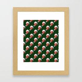 Fixed the Newel Post! Framed Art Print