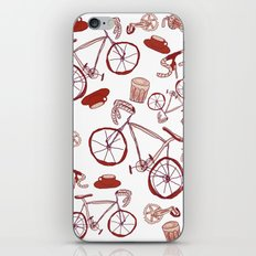 Bikes and Coffee iPhone Skin