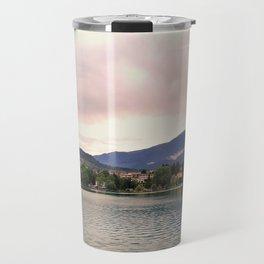 Peaceful Lake Bled, Slovenia Travel Mug