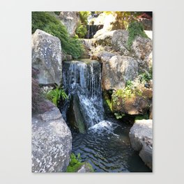 Wisley waterfall Canvas Print