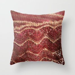 Gilded Rose Throw Pillow