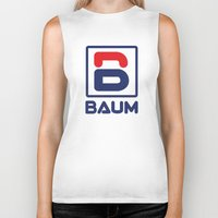 tenenbaum Biker Tanks featuring Richie 'Baum' Tenenbaum T-Shirt by Tabner's