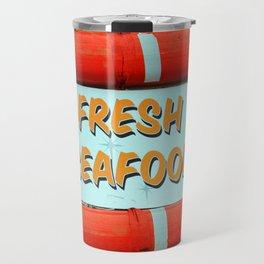 Fresh Local Seafood Travel Mug