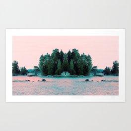 Break of dawn Art Print