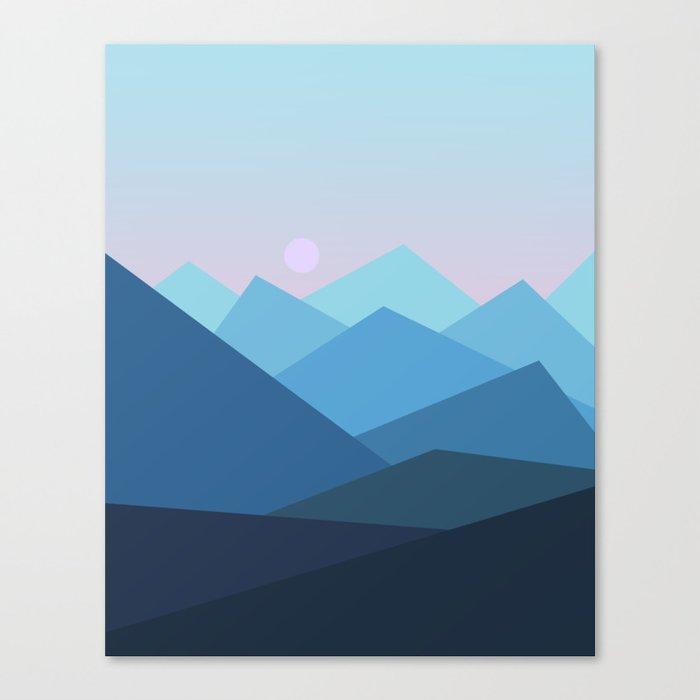 Landscape NC 01 Canvas Print