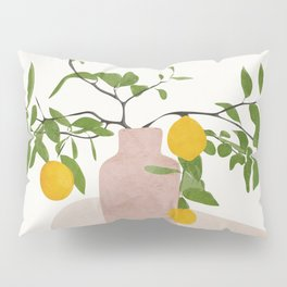 Lemon Branches Pillow Sham